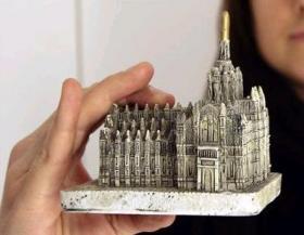 大聖堂の模型