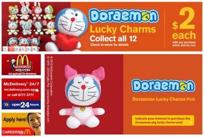 DORAEMON Lucky Charms