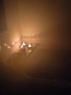 バスルーム インテリアコーディネート キャンドル
