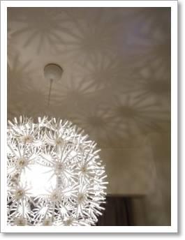 IKEA 照明 MASKROS たんぽぽ綿毛 ダイニング