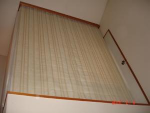 プレーンシェードカーテン1