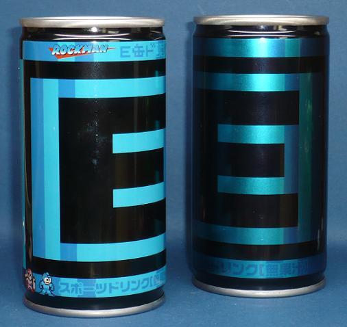 ロックマン E缶ドリンク