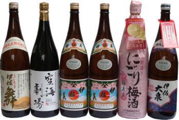 伊佐焼酎と梅酒のセット