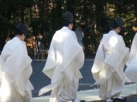 白装束のお姿
