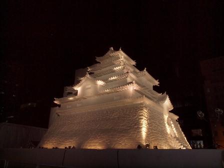7 雪まつり会津城 P2096601