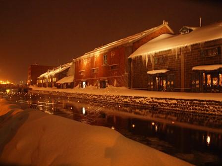 26 小樽運河夜景倉庫 P2106733