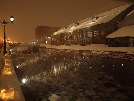 小樽運河夜景倉庫 P2106753