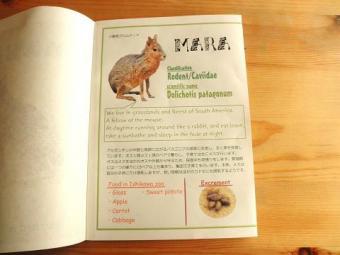 いしかわ動物園 手作り図鑑