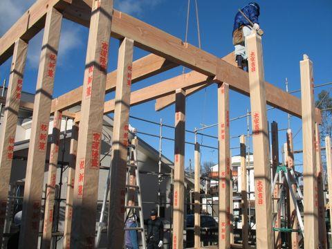 柱と梁 桁