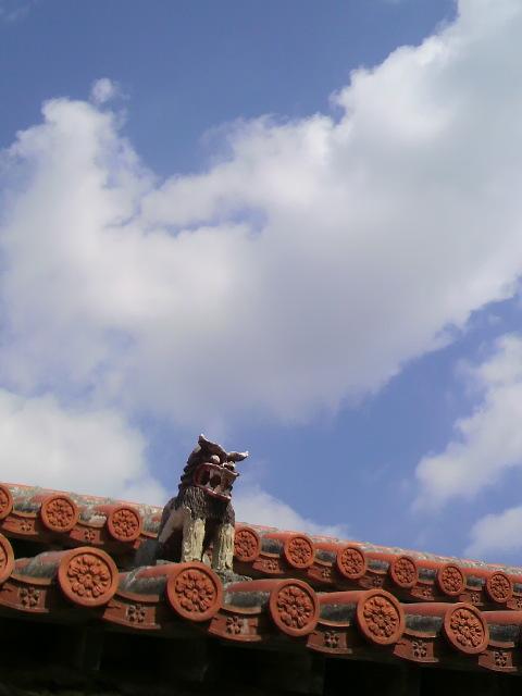 風の丘ピザ屋根