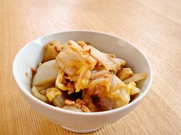 白菜のツナ煮