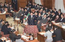国会予算委員会