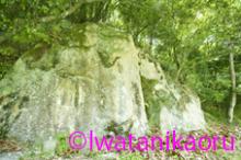 上三草の磨崖仏