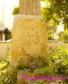 正岸寺の石棺仏