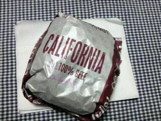 カリフォルニアバーガー