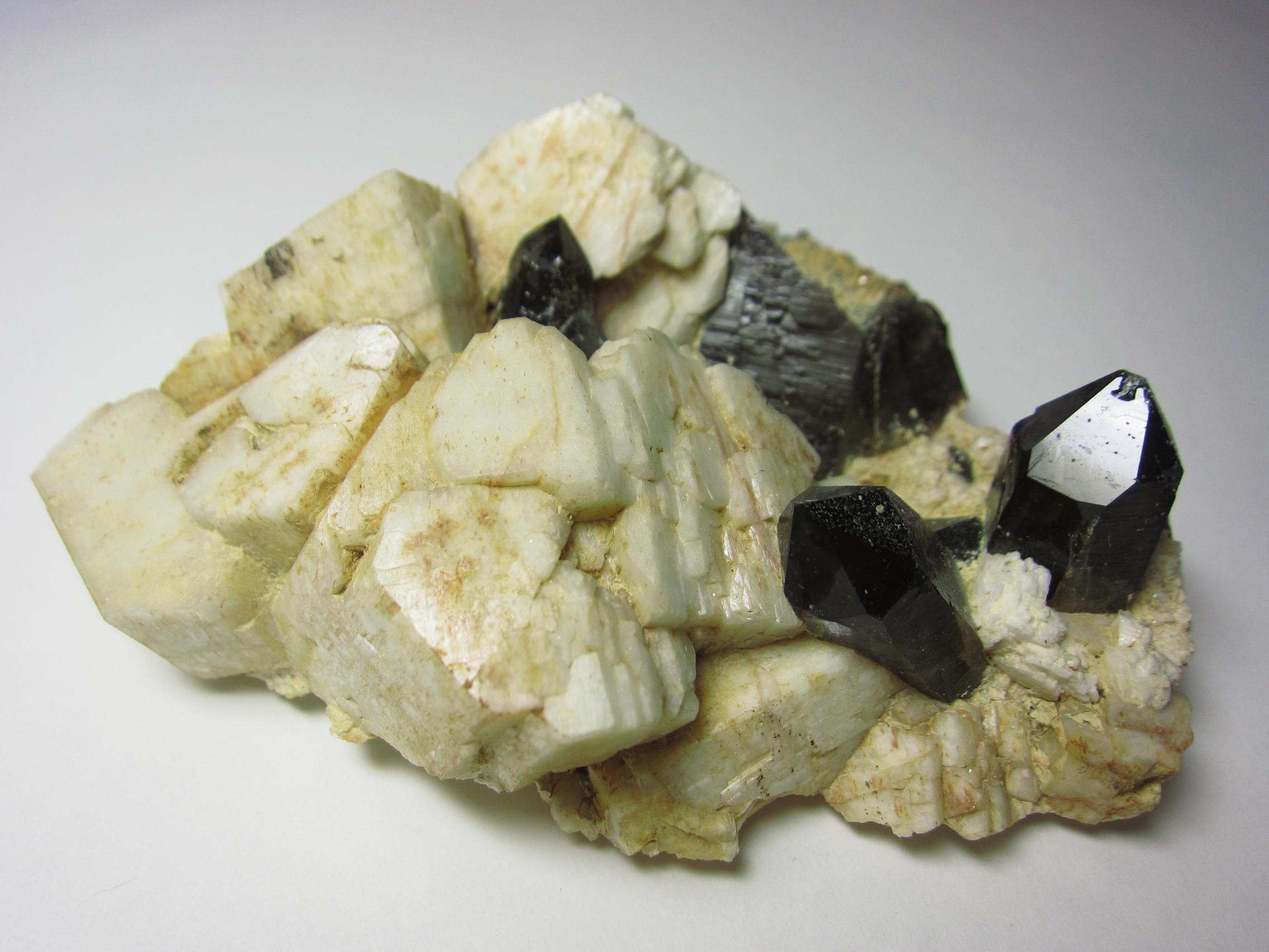 岐阜田原の黒水晶Morion1