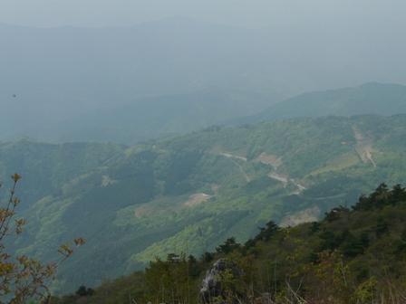 天狗の森 頂上付近からの眺望