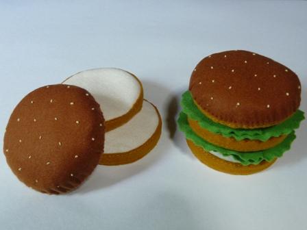 ハンバーガーセット バンズ ビッグ 2