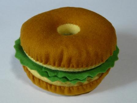 ハンバーガーセット バンズ ベーグル 1