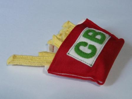 ハンバーガーセット ストレートポテト&ポテト袋