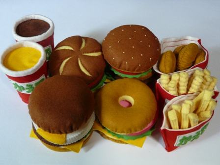 ハンバーガーセット 1セット