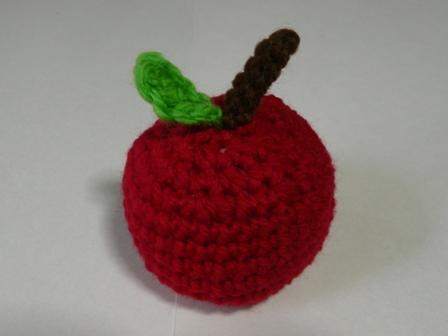 エコたわし フルーツ りんご