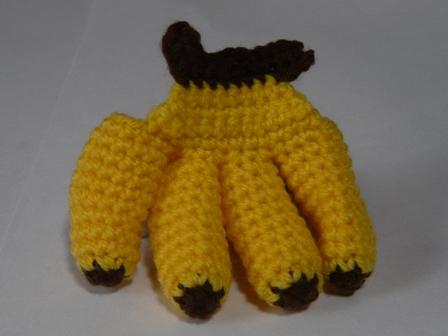 エコたわし フルーツ バナナ 3