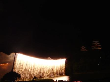 大洲川まつり花火大会 7