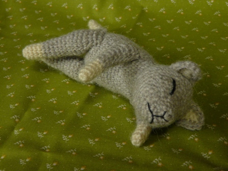 あみぐるみ ねむり猫 2