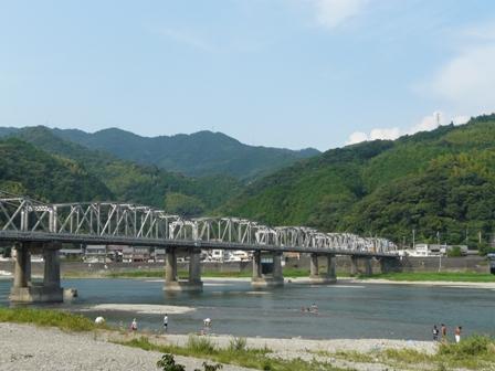 仁淀川と仁淀川橋