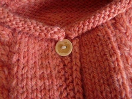 編み物 半袖カーディガン 4