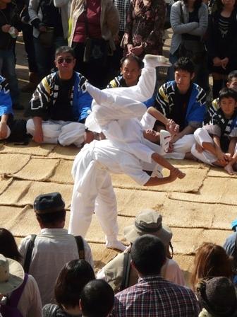 菊間祭り 獅子舞 2