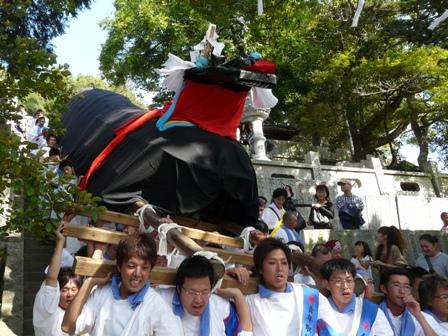 菊間祭り 牛鬼 4