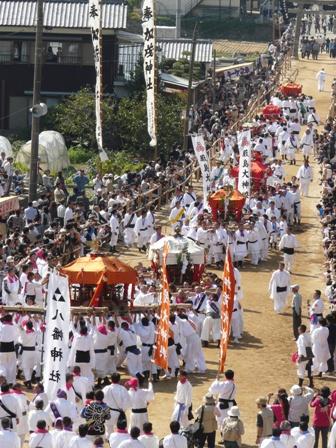 菊間祭り お神輿 1