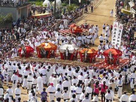 菊間祭り お神輿 2