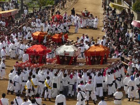 菊間祭り お神輿 3