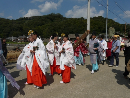 菊間祭り お旅所行列 2