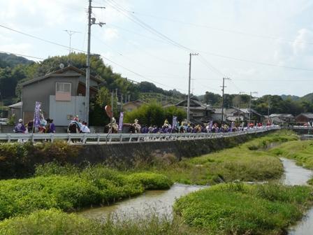 菊間祭り お旅所行列 4