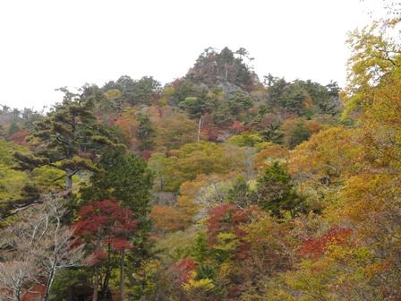 瓶ヶ森林道 紅葉 4