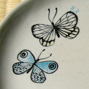 蝶のお皿01