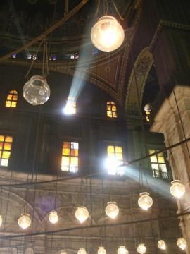 ムハンマド・アリ・モスク内部