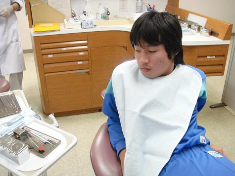歯医者苦手