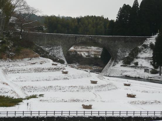 雪の通潤橋 10,1,13 004