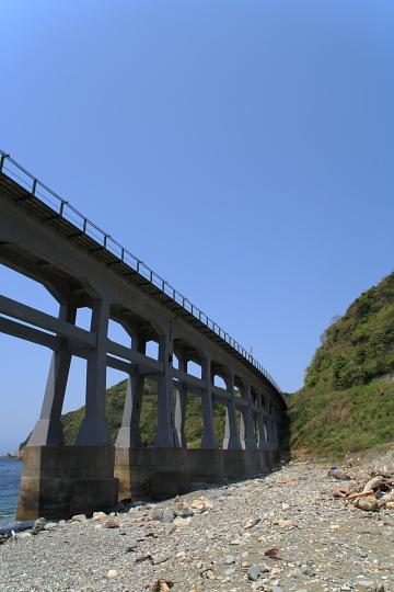 山陰本線物郷川橋梁4