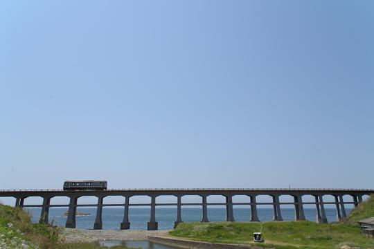 山陰本線物郷川橋梁3