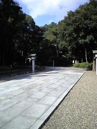 櫻木神社 参道