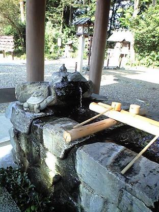 櫻木神社 手水舎