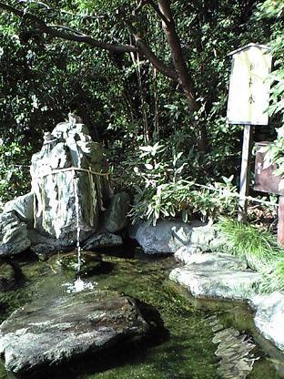 櫻木神社 御神水