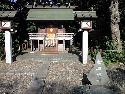 櫻木神社 摂社 天満宮