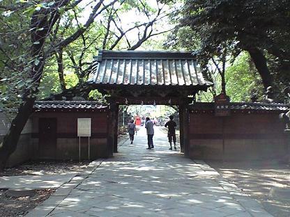 上野東照宮 くぐり門
